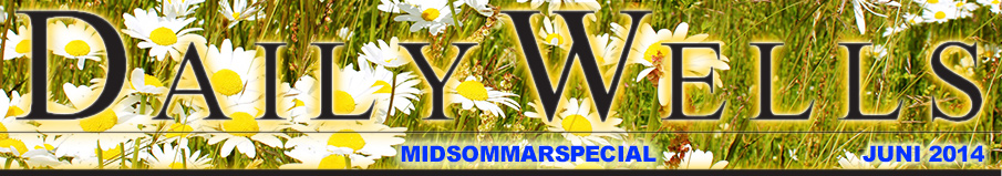Daily Wells - midsommarspecial - JUNI 2014