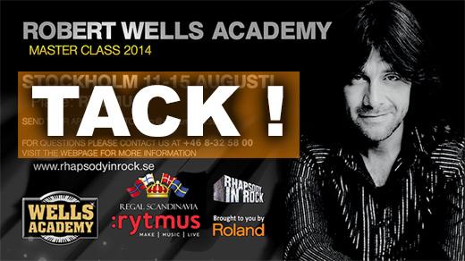 Robert Wells Academy Master Class 2014