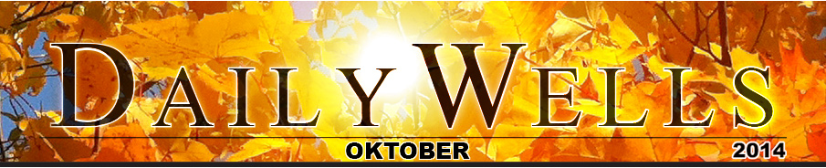 Daily Wells - oktober 2014