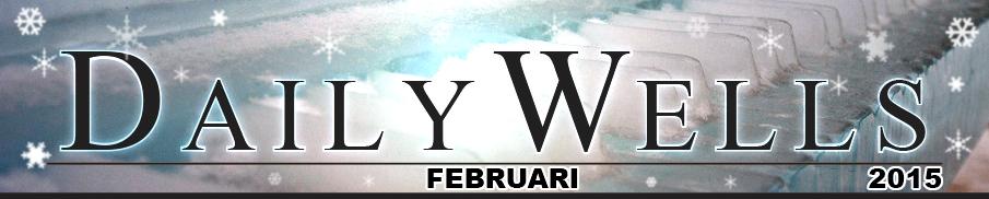 Daily Wells - februari 2015