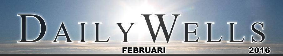 Daily Wells - februari 2016