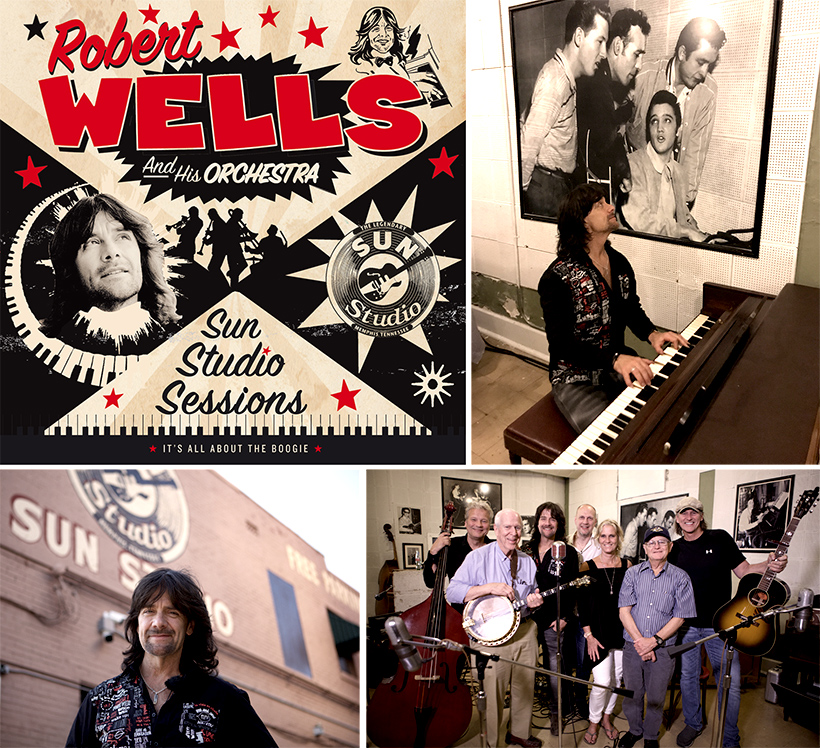 Robert Wells Sun Studio Sessions