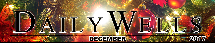 Daily Wells - CHRISTMAS 2017